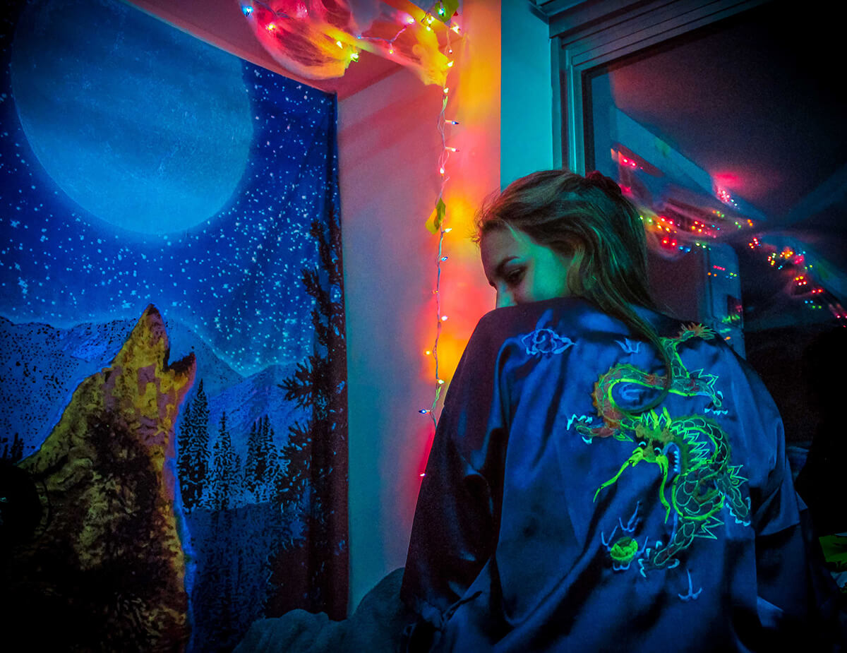 Glowing Kimono
