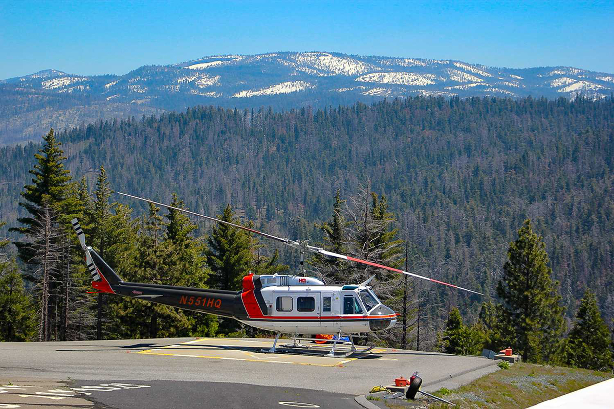 Yosemite Helicopter