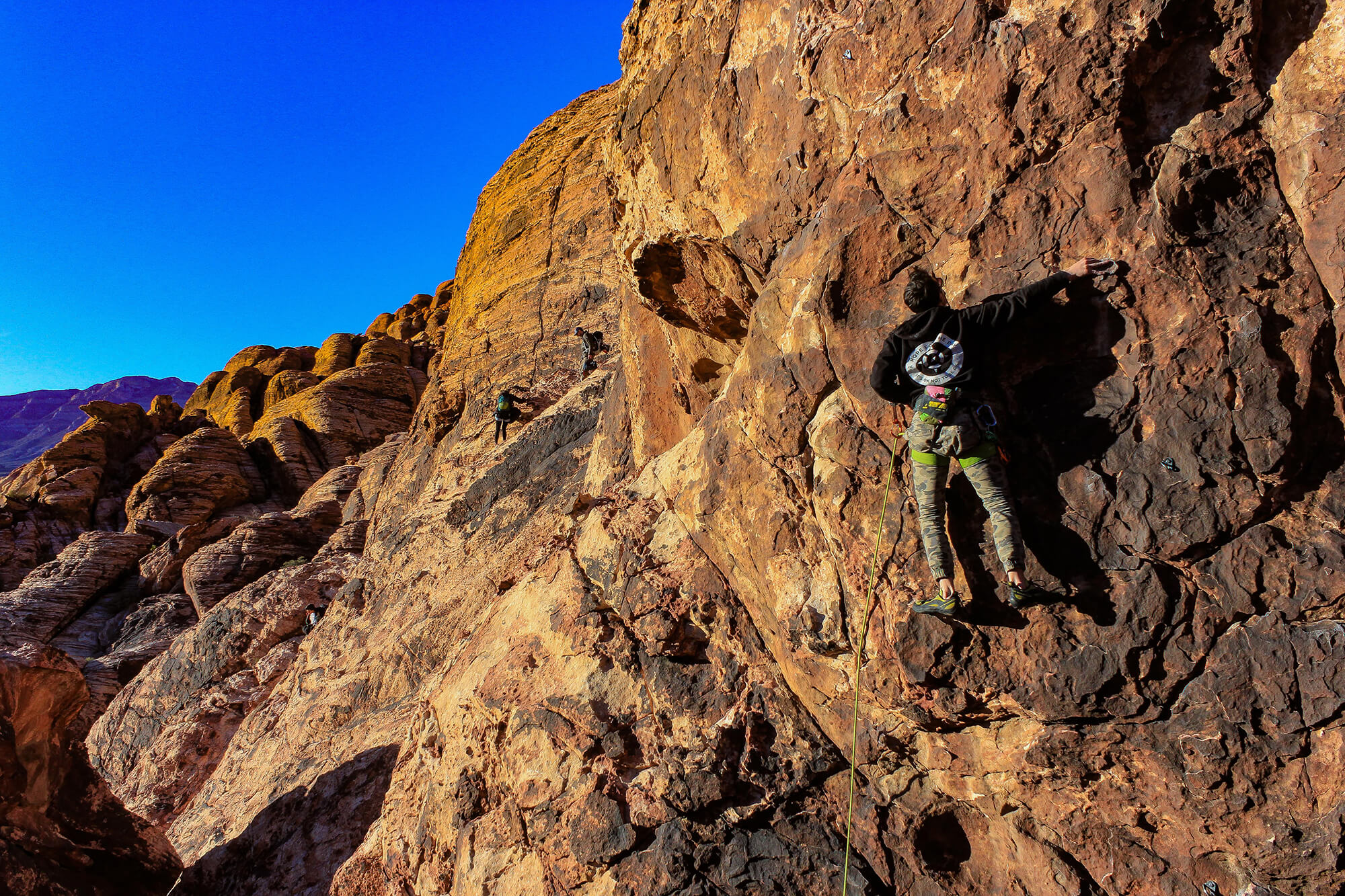 Kevin Climbs