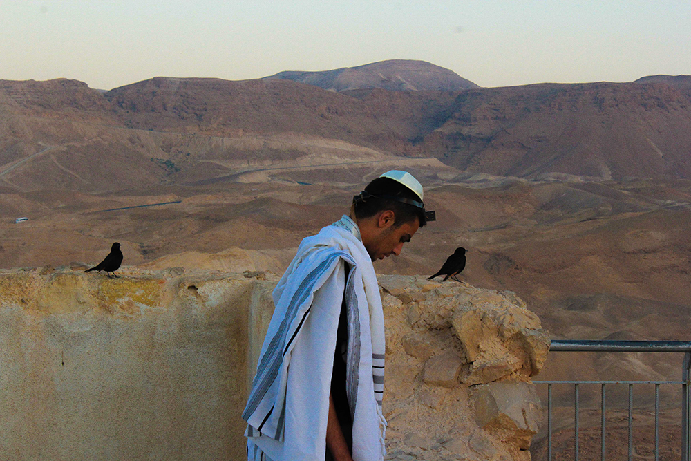 Praying on Masada