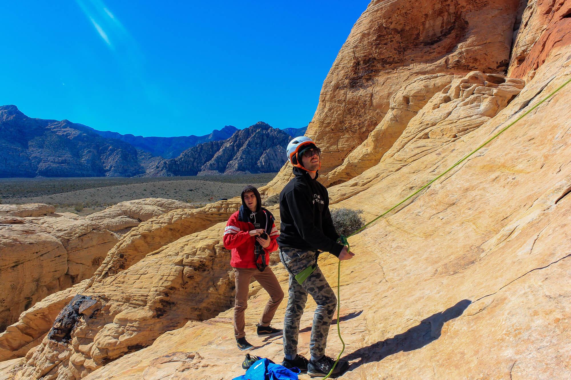 Red Rocks Climbing