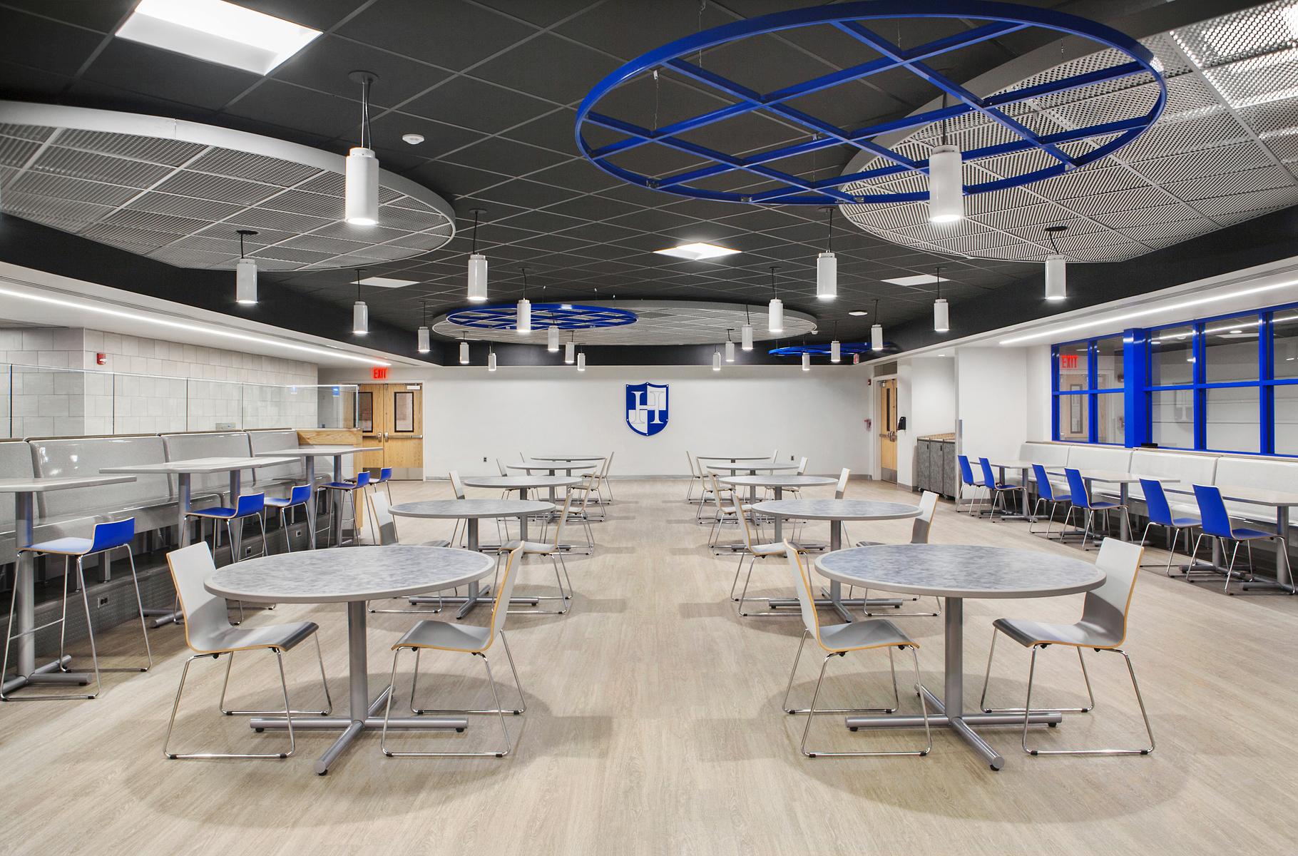 Shiffler Lighting Solution Cafeteria LED Lighting Solution