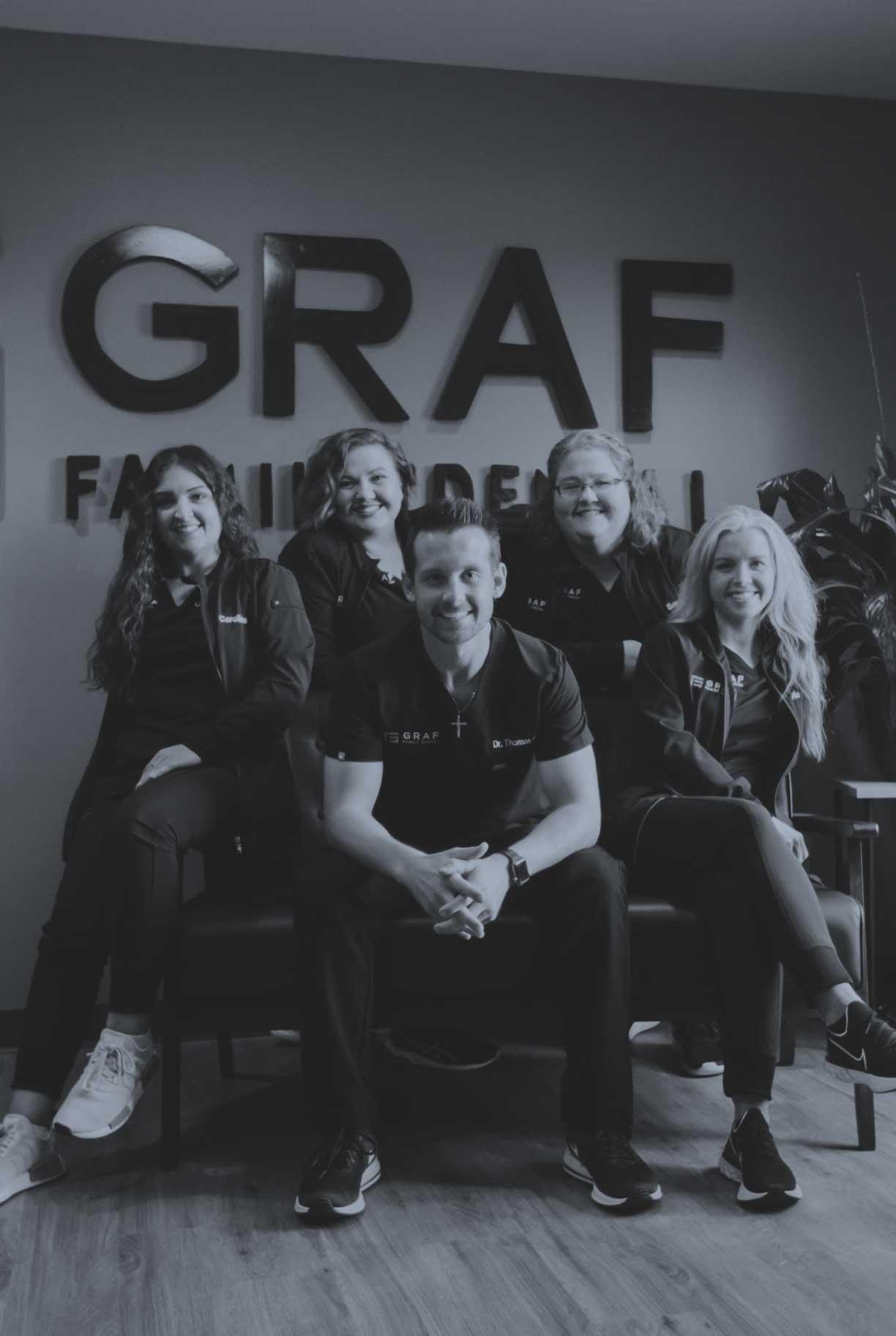 Photo of the Graf Family Dental team