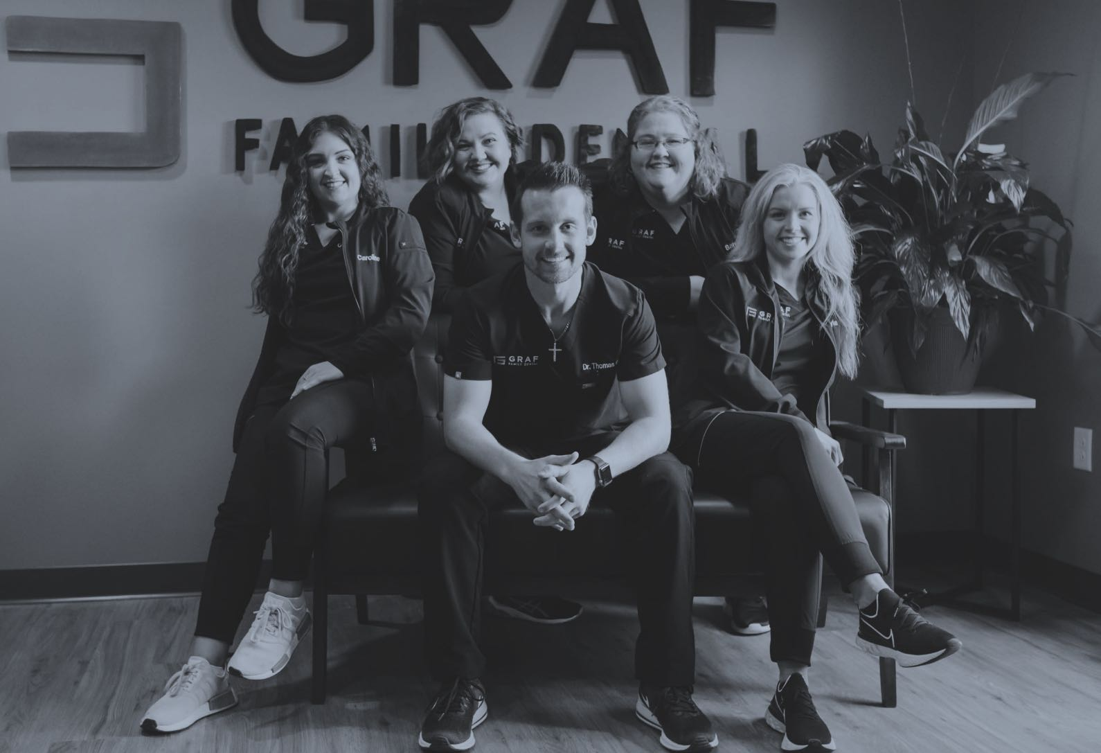 Photo of the Graf Family Dental team