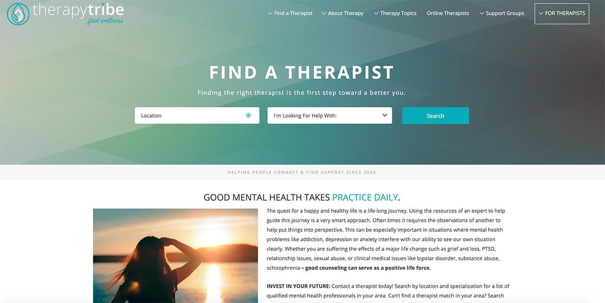 example therapist directories