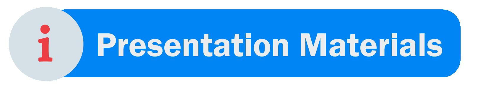 Meeting Materials - Presentation Materials