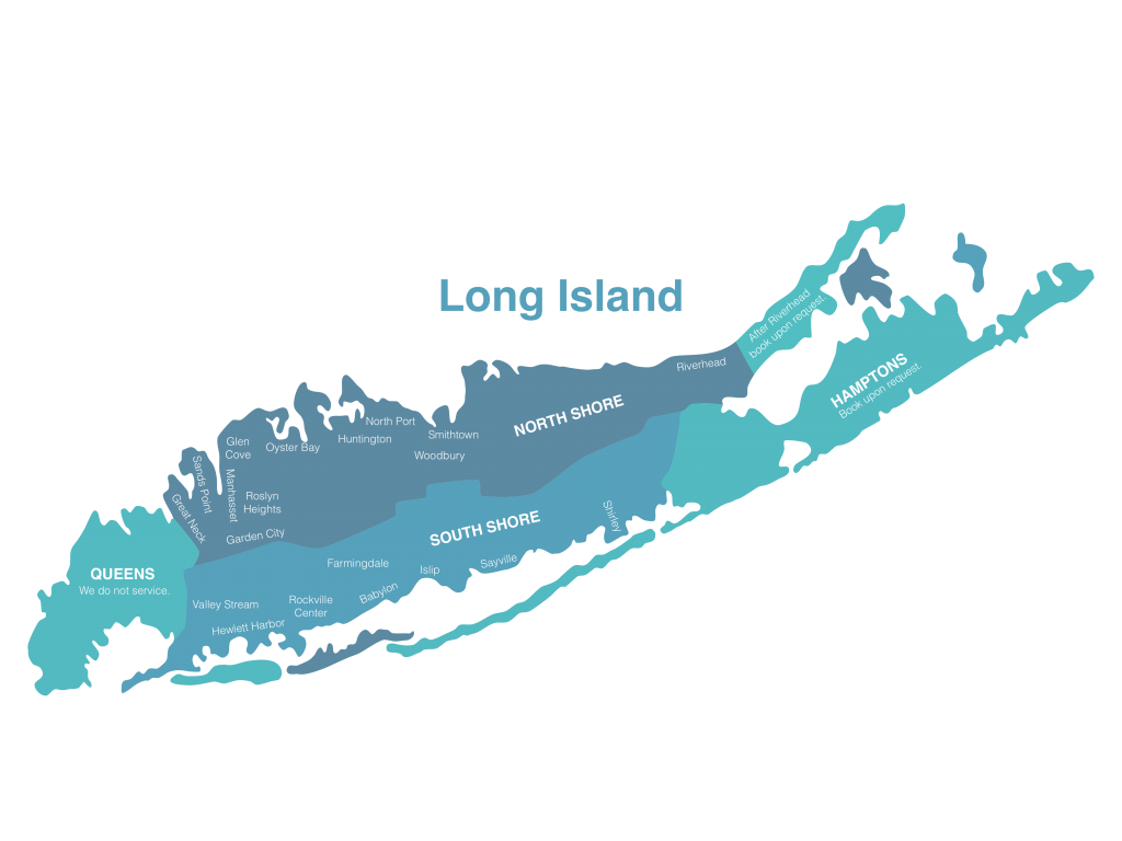 mobile merak's service map of long island NY