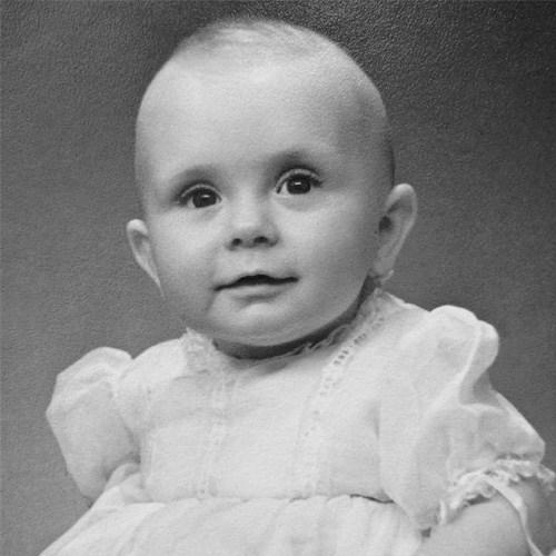 Pam Malcolm childhood photo