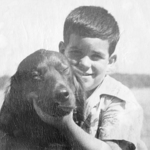 Dr Charles Pascal childhood photo