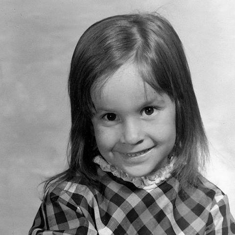 Dr. Laura Jana childhood photo