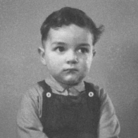 Dr. Edward Melhuish childhood photo