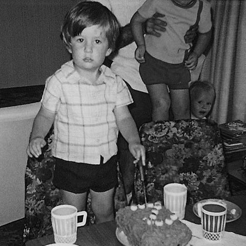 Dr. Bradley Hannigan childhood photo