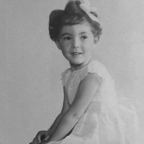 Christine Legg childhood photo