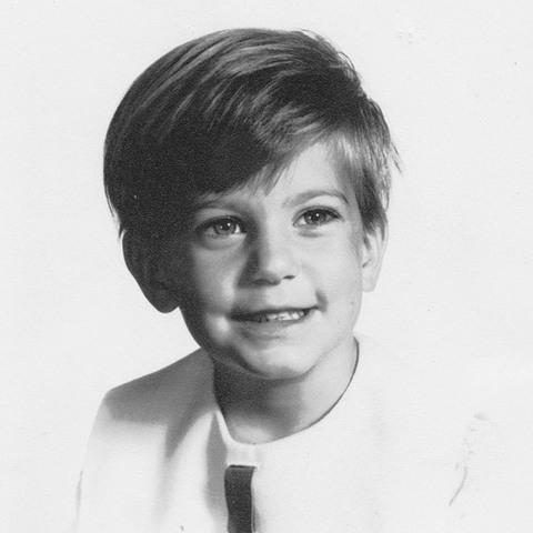 Kim Hiscott childhood photo