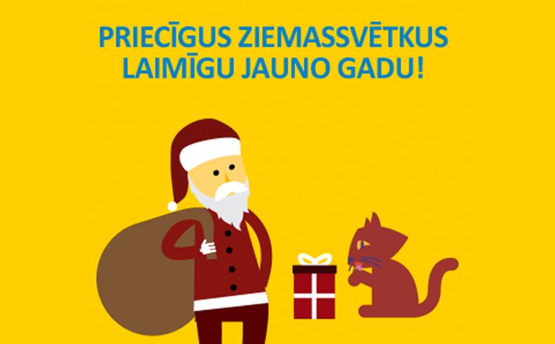 Lai jautri un priecīgi svētki!