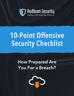 10 Point Offensive Security Checklist cover