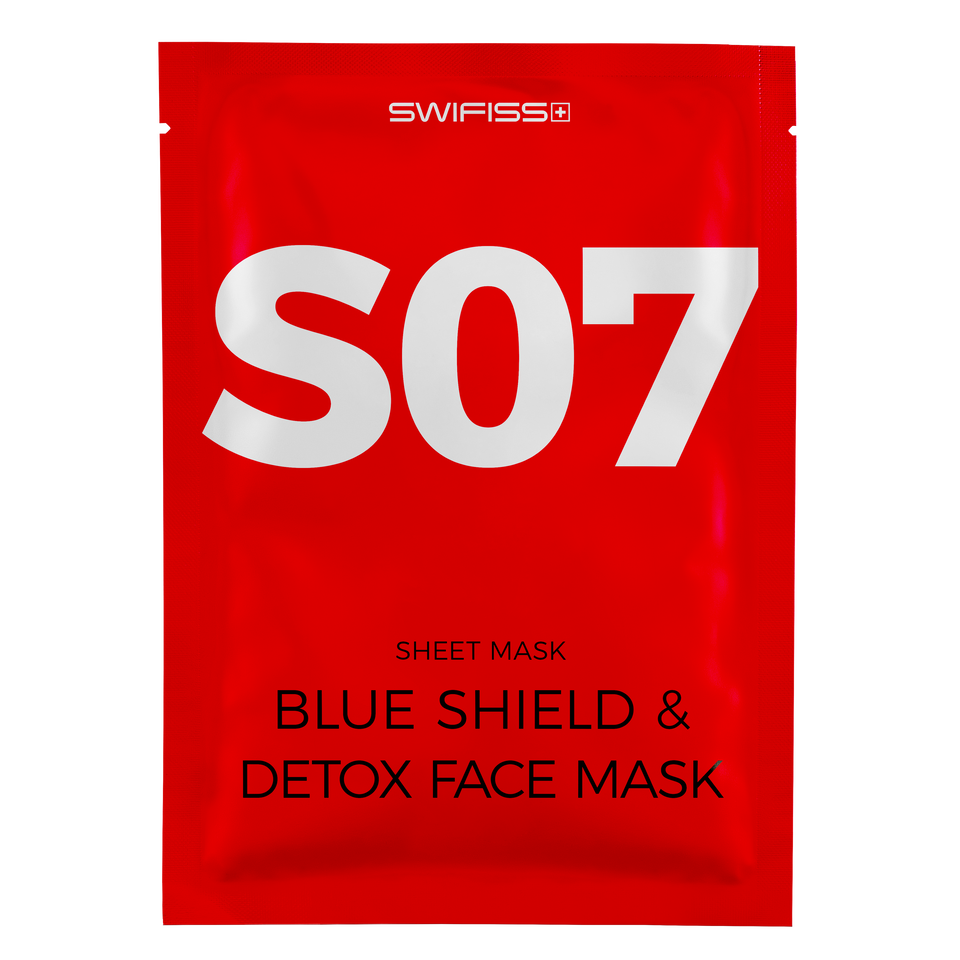 Blue Shield & Detox Face Mask