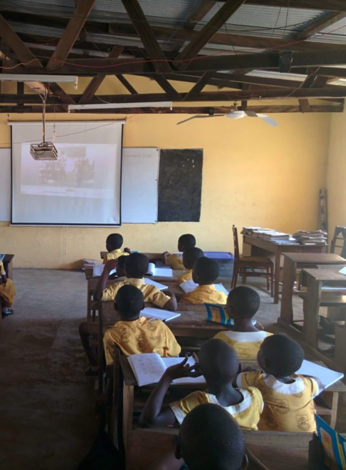 Bringing e-learning to remote schools in Africa