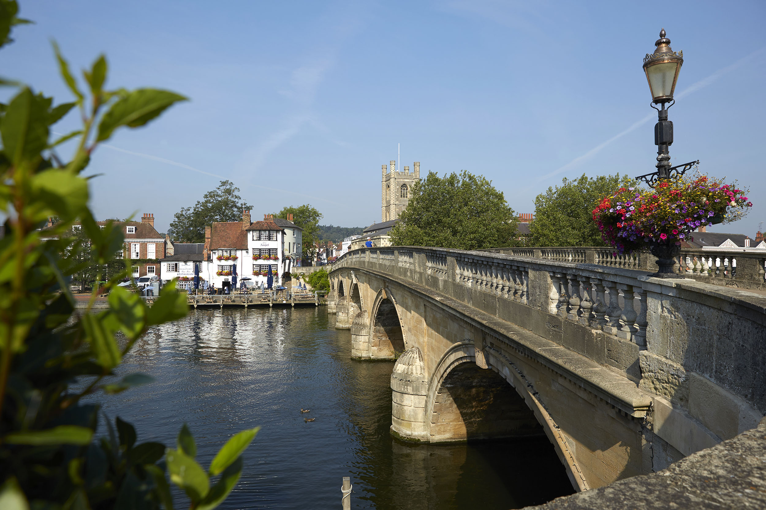 Henley Town Council - picturesque view of Henley town