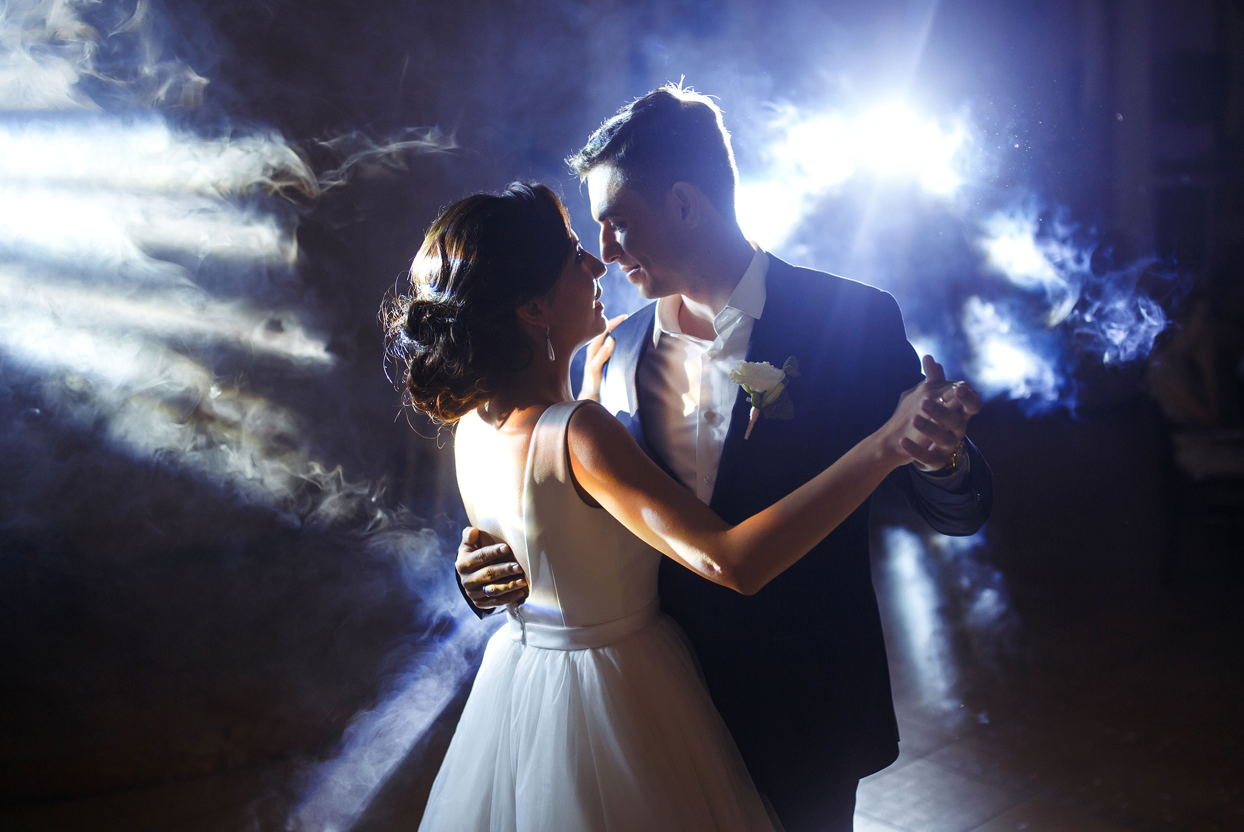 Henley Town Council - Couple having their first dance on their wedding day