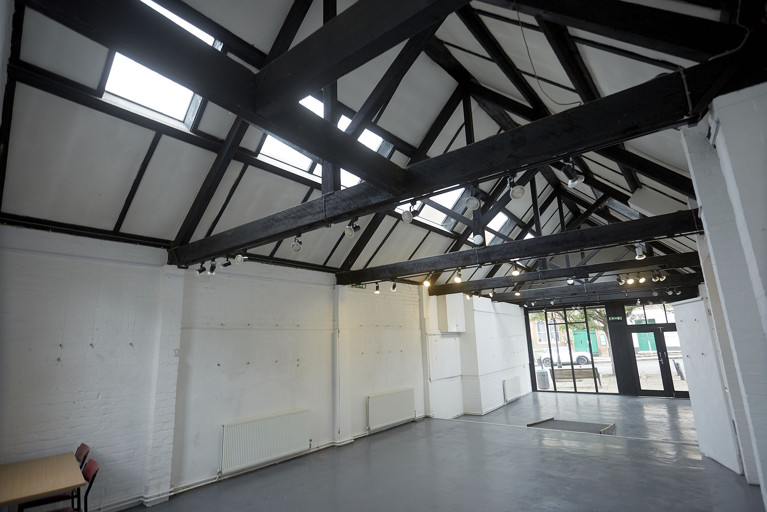Henley Town Council - old fire station interior