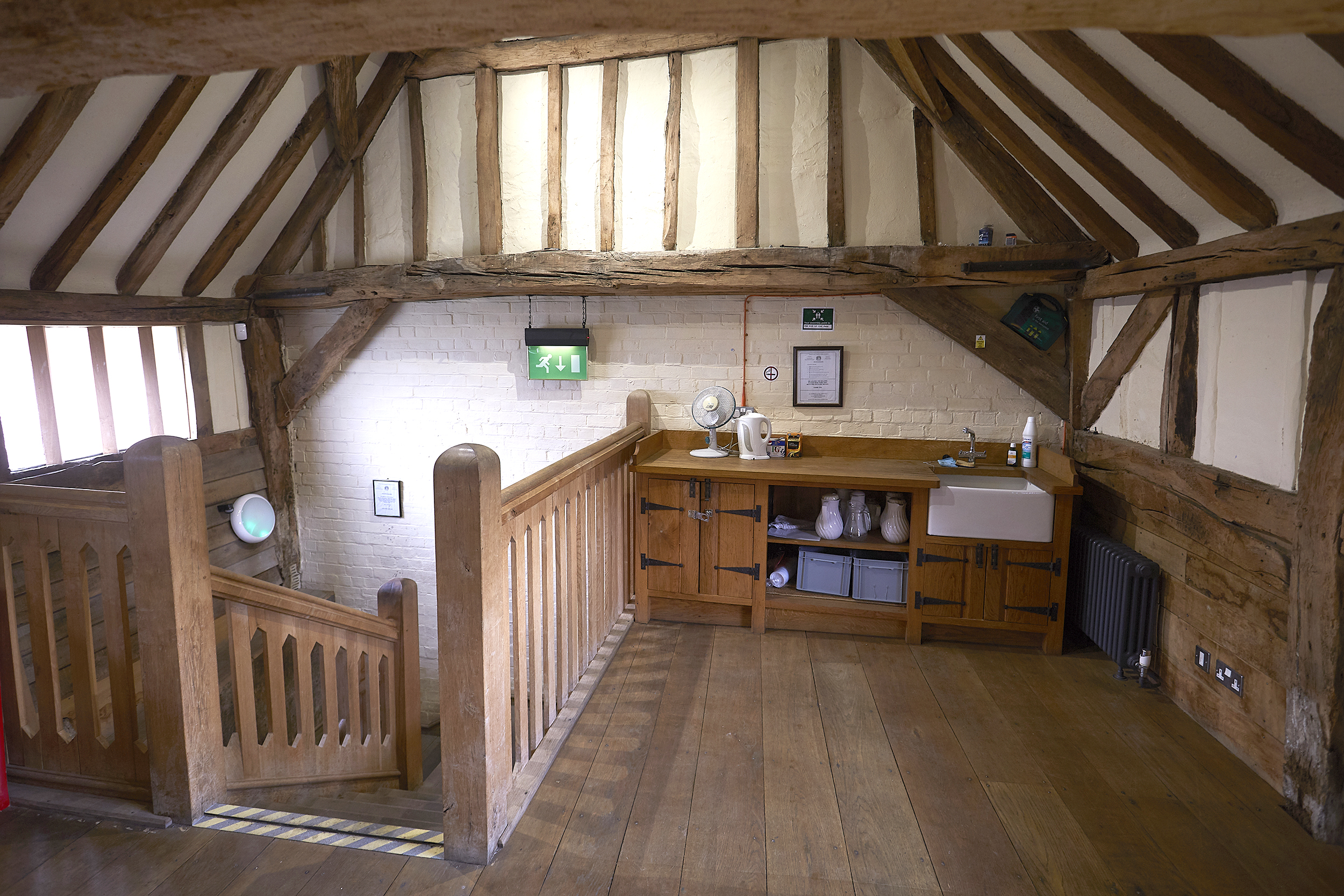 Henley Town Council - interior of the kings arms