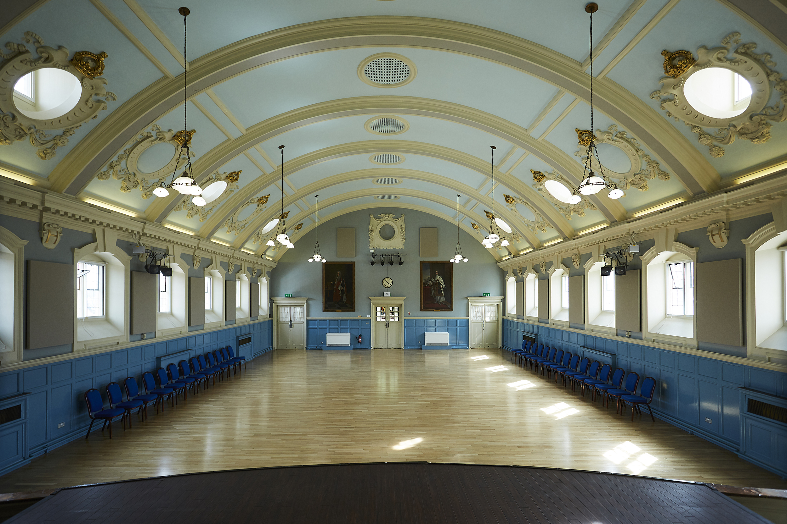 Henley Town Council - large interior of Henley town hall