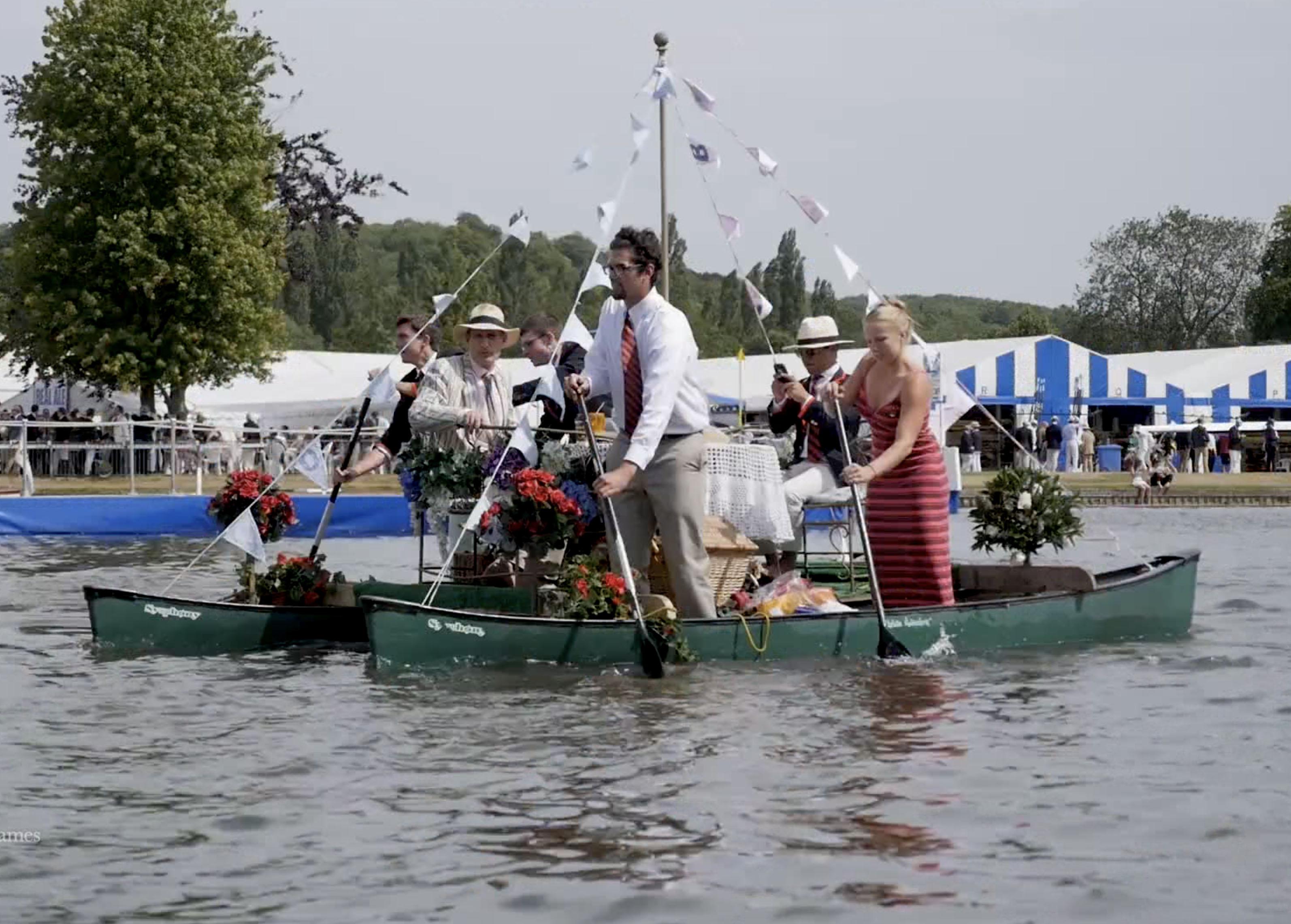 Henley Town Council - Boat sailing through Henley