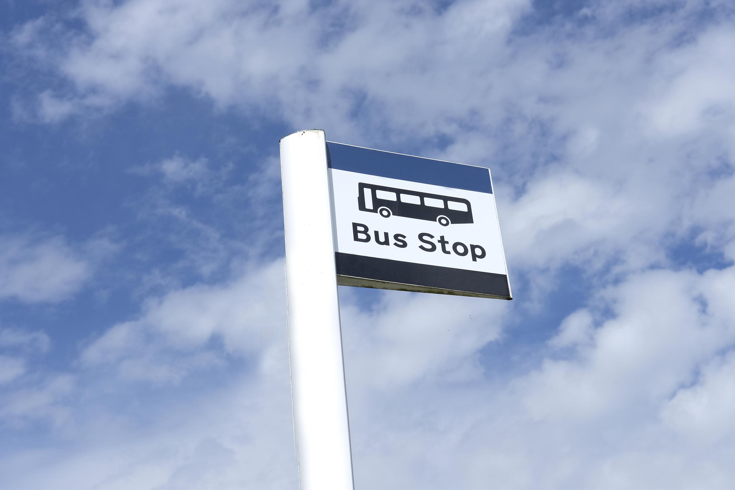 Henley Town Council - Bus sign