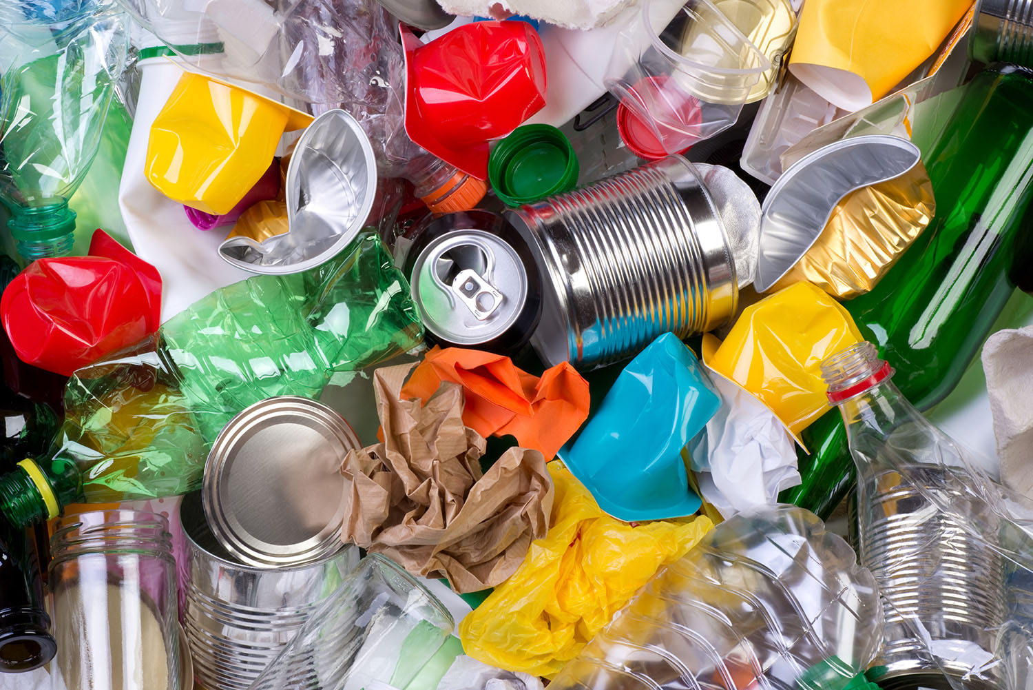 Henley Town Council - collection of cans and plastic bottles