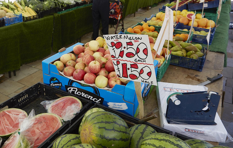 Henley Town Council - Henley town market stall