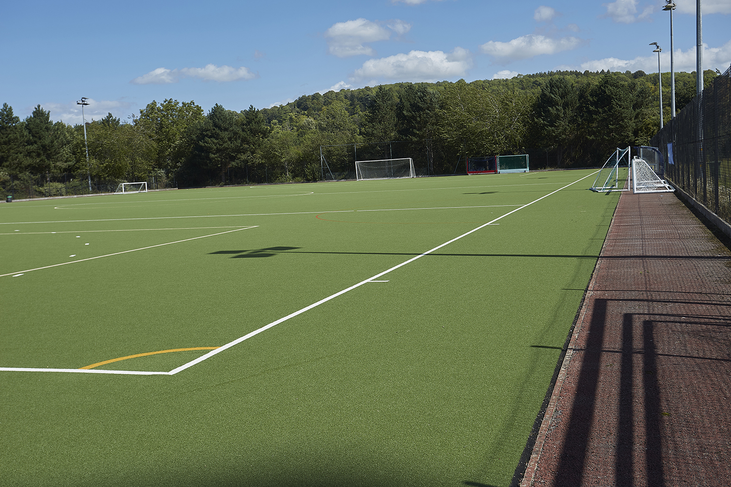 Henley Town Council - Empty sports field on a sunny day