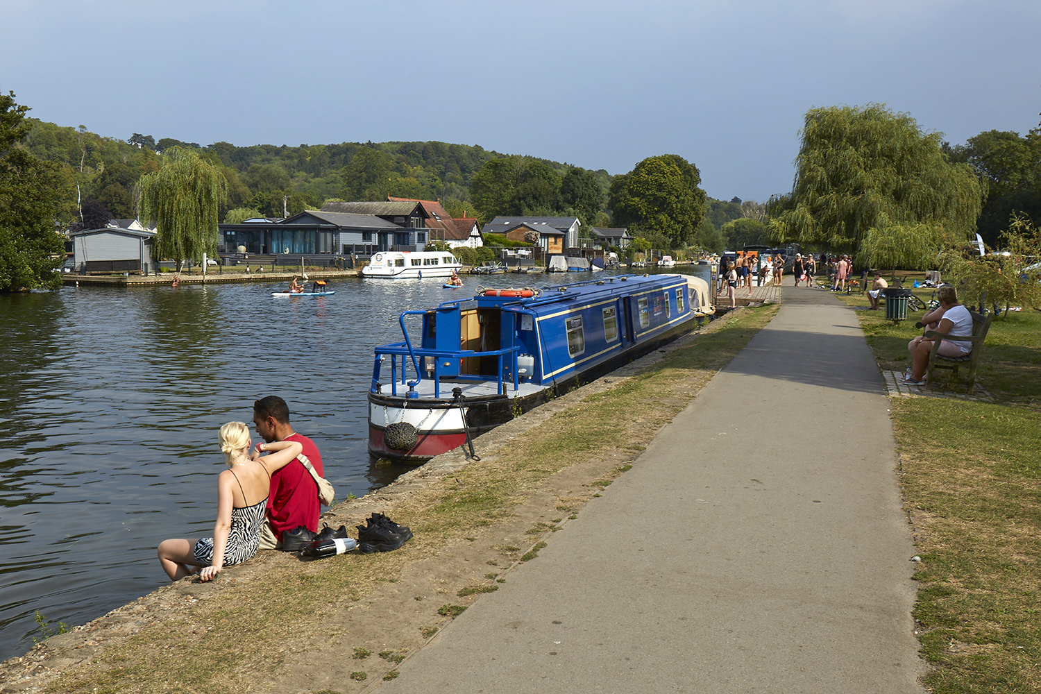 Henley Town Council - Henley river from the shore