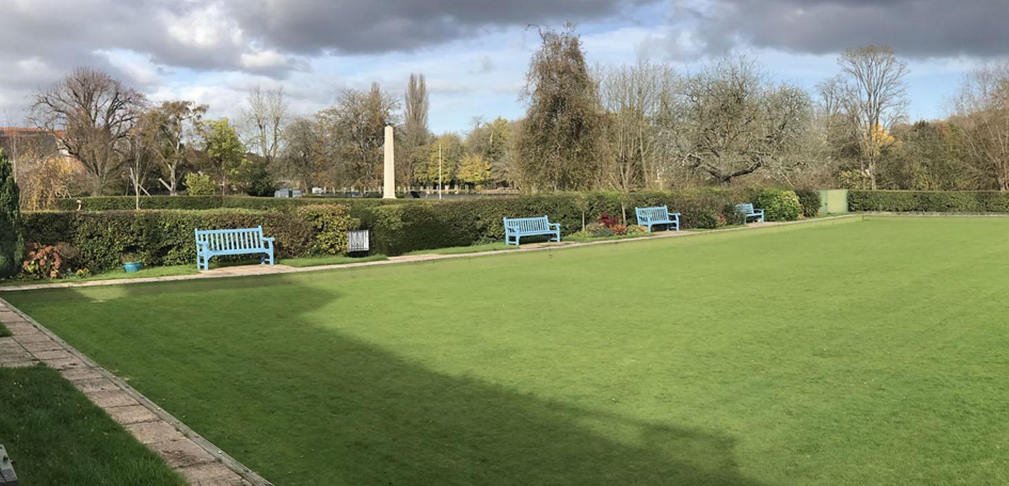 Henley Town Council - Henley Bowls club field