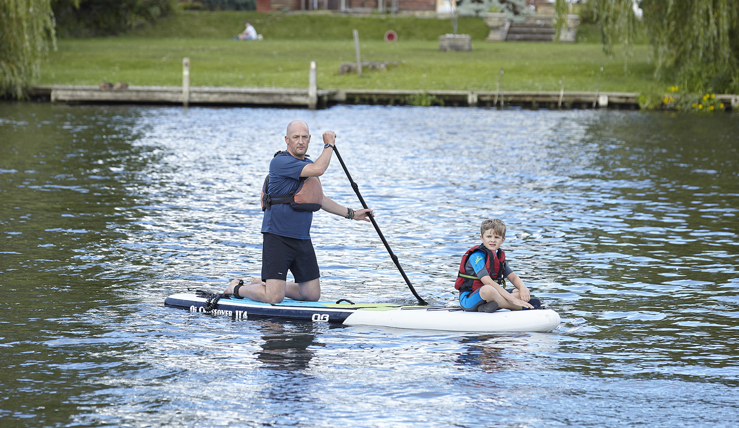 Henley Town Council - Family paddle-boarding in Henley