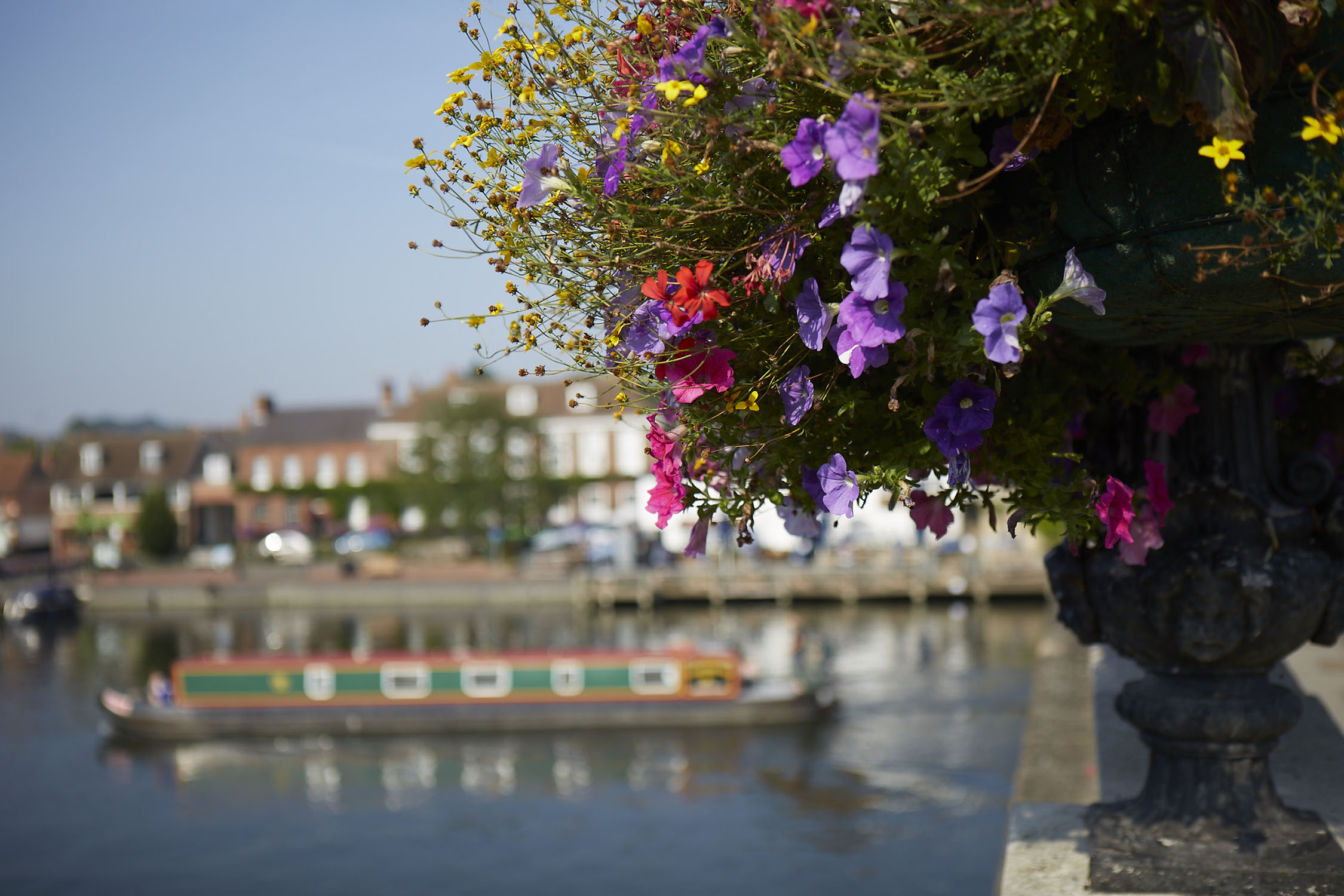 Henley Town Council - A view of Henley's green spaces in bloom