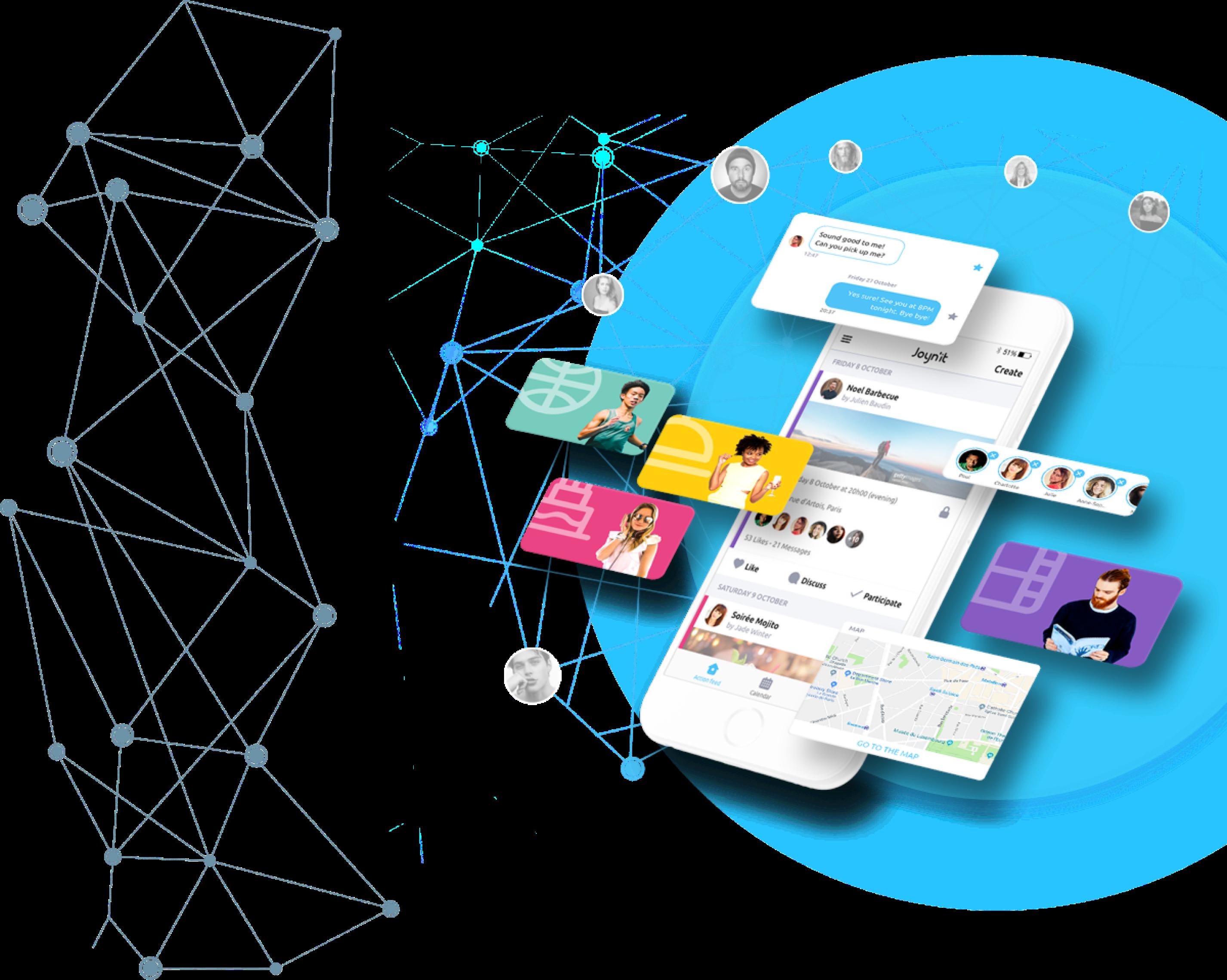 Joynit application mobile