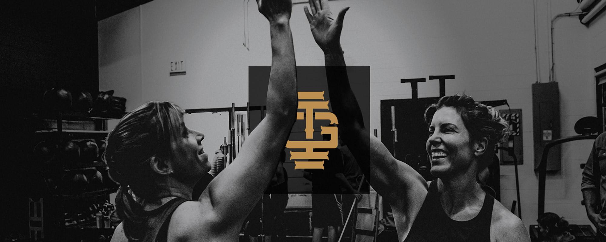 CrossFit Fitness Brand Itentity