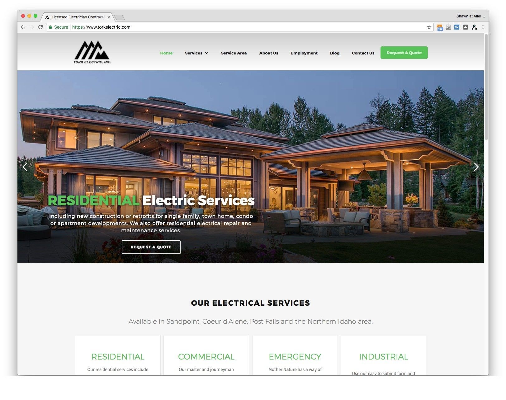 The Tork Electric Inc. website was redesigned and content updated to improve SEO. We made it responsive so it can be viewed more accurately on all devices. The site utilizes the pixelcactus platform thus making future edits more manageable and time-cost effective.
