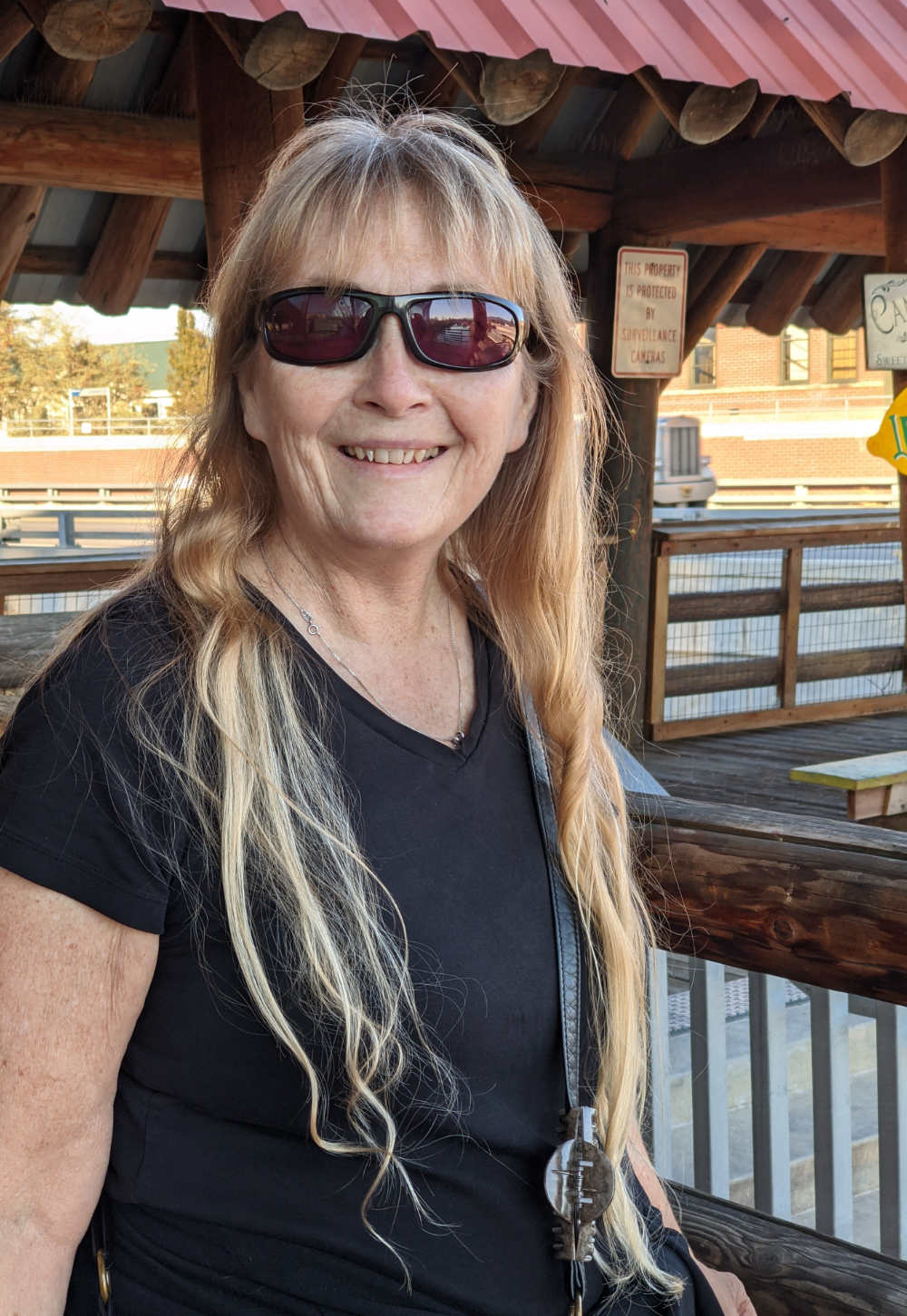 portrait of Sandy Gale