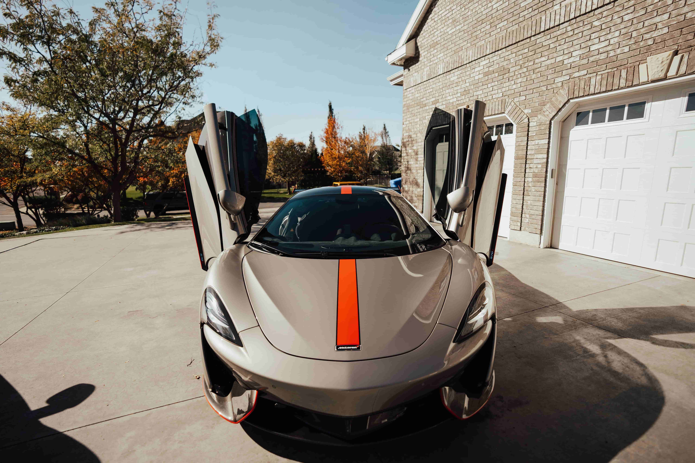 Grey car after VIP detailing in Utah