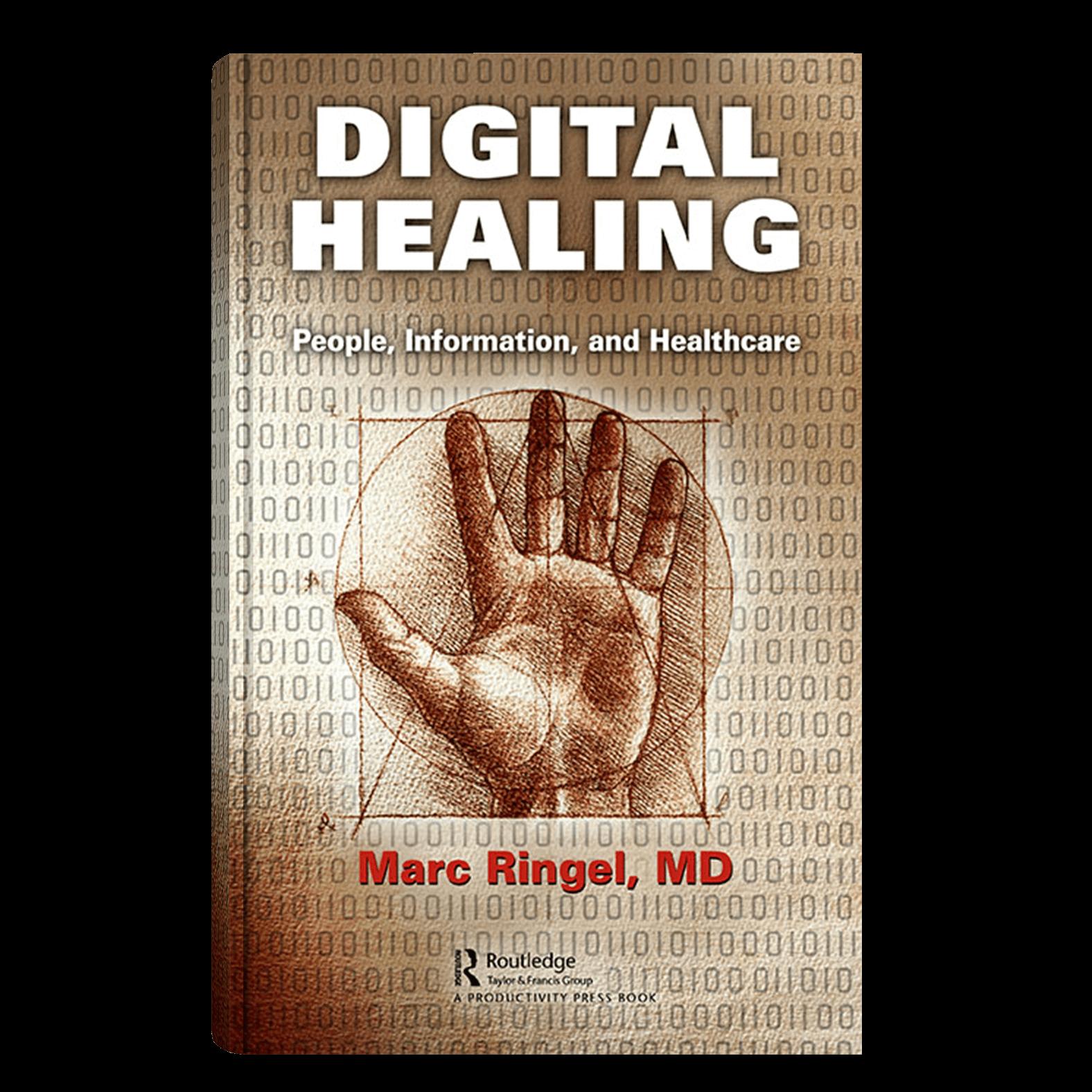 book mockup for digital healing