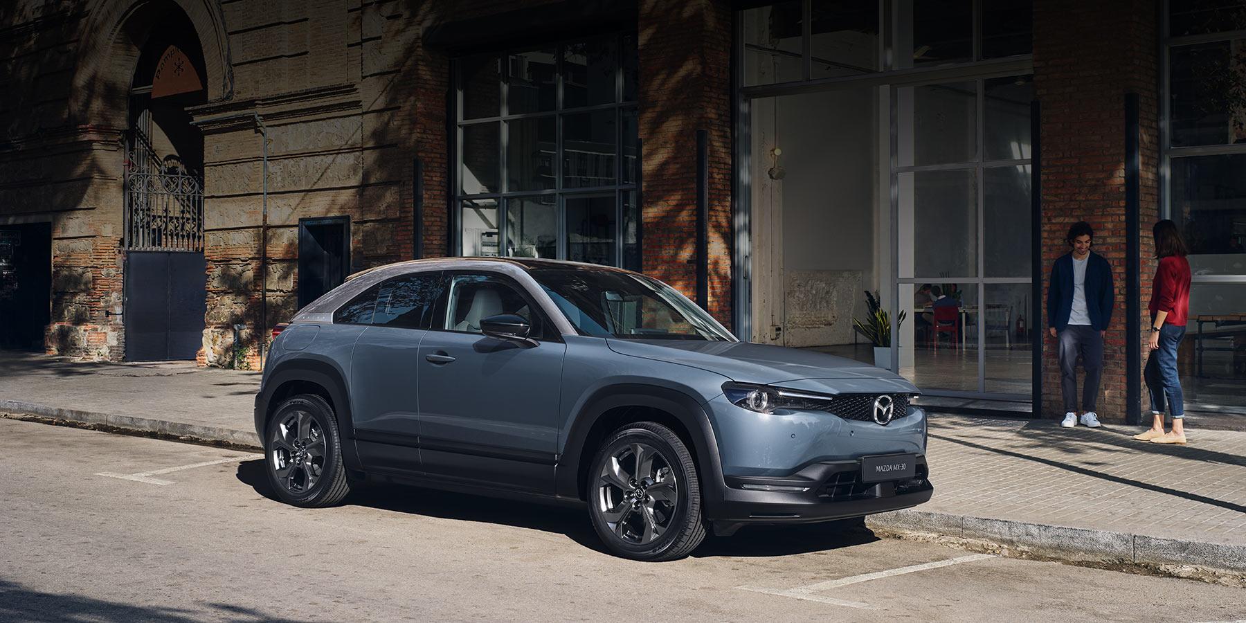 Mazda MX-30 - Elektrisk rentekampanje