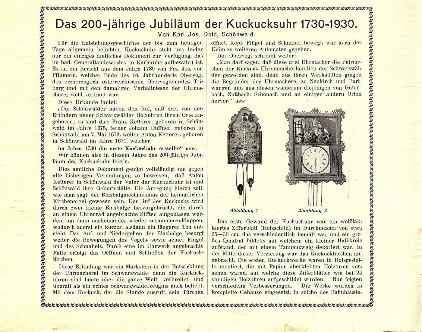 Fremdenblatt Schönwald - Seite 3