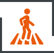 Highly Trafficked Area Icon