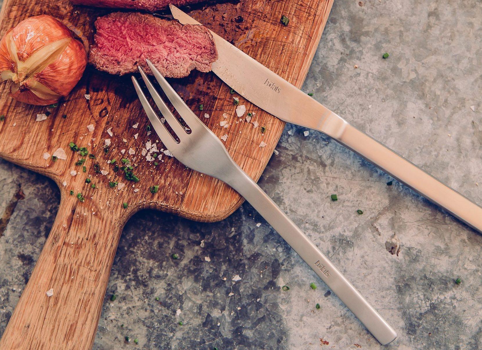 Steak Knives and Forks