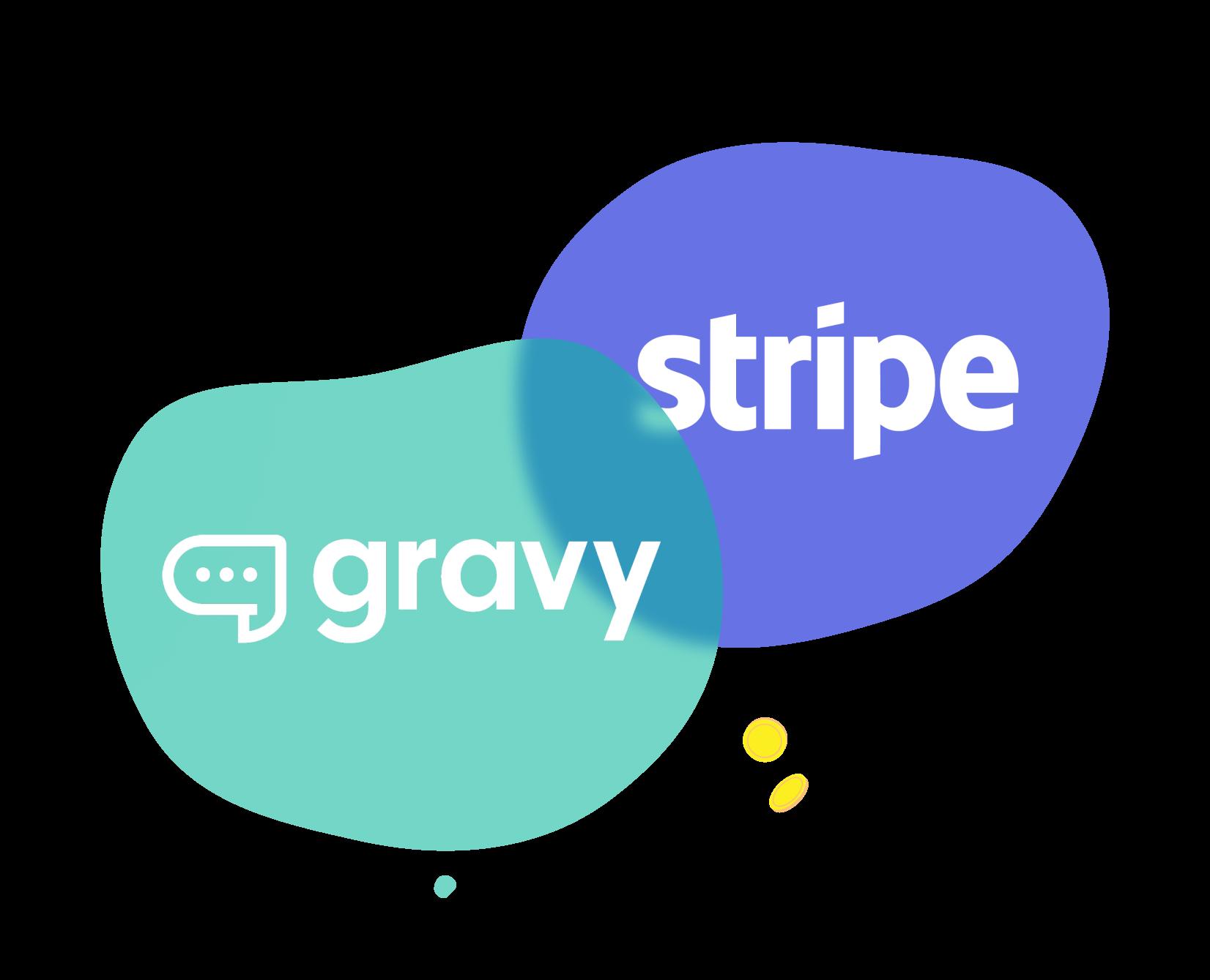 gravy + stripe