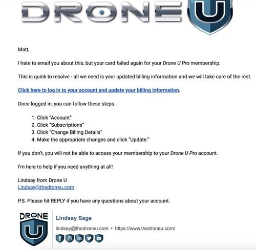 Drone U membership
