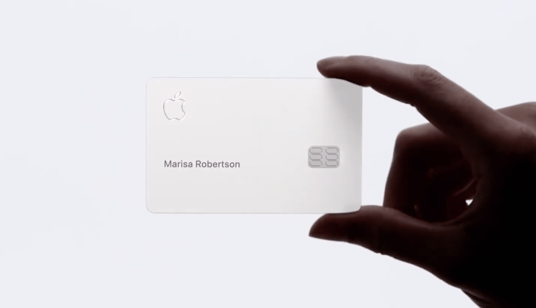 apple card size