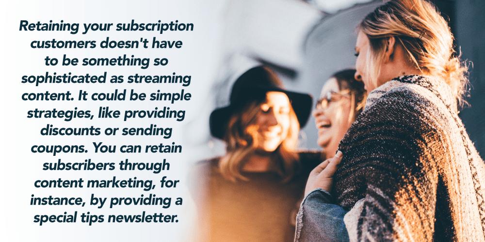 Subscription Box customer churn reduction